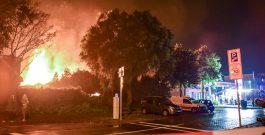 Grote brand bij massagesalon Oosterpark