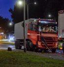 Bietenwagens botsen op Hoendiep stad