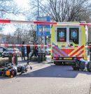 Twee gewonden bij frontale botsing tussen scooter en brommer