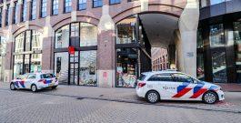 Gewapende overval op telefoonwinkel Waagstraat
